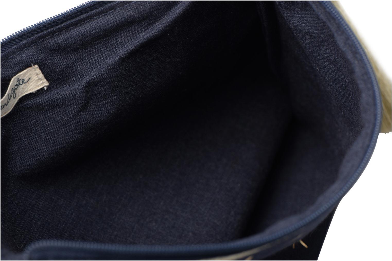 Petite Maroquinerie Petite mendigote Pochette Kit de Survie Bleu vue derrière