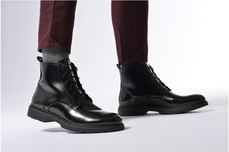Bottines et boots Mr SARENZA Rocketole Noir vue bas / vue portée sac
