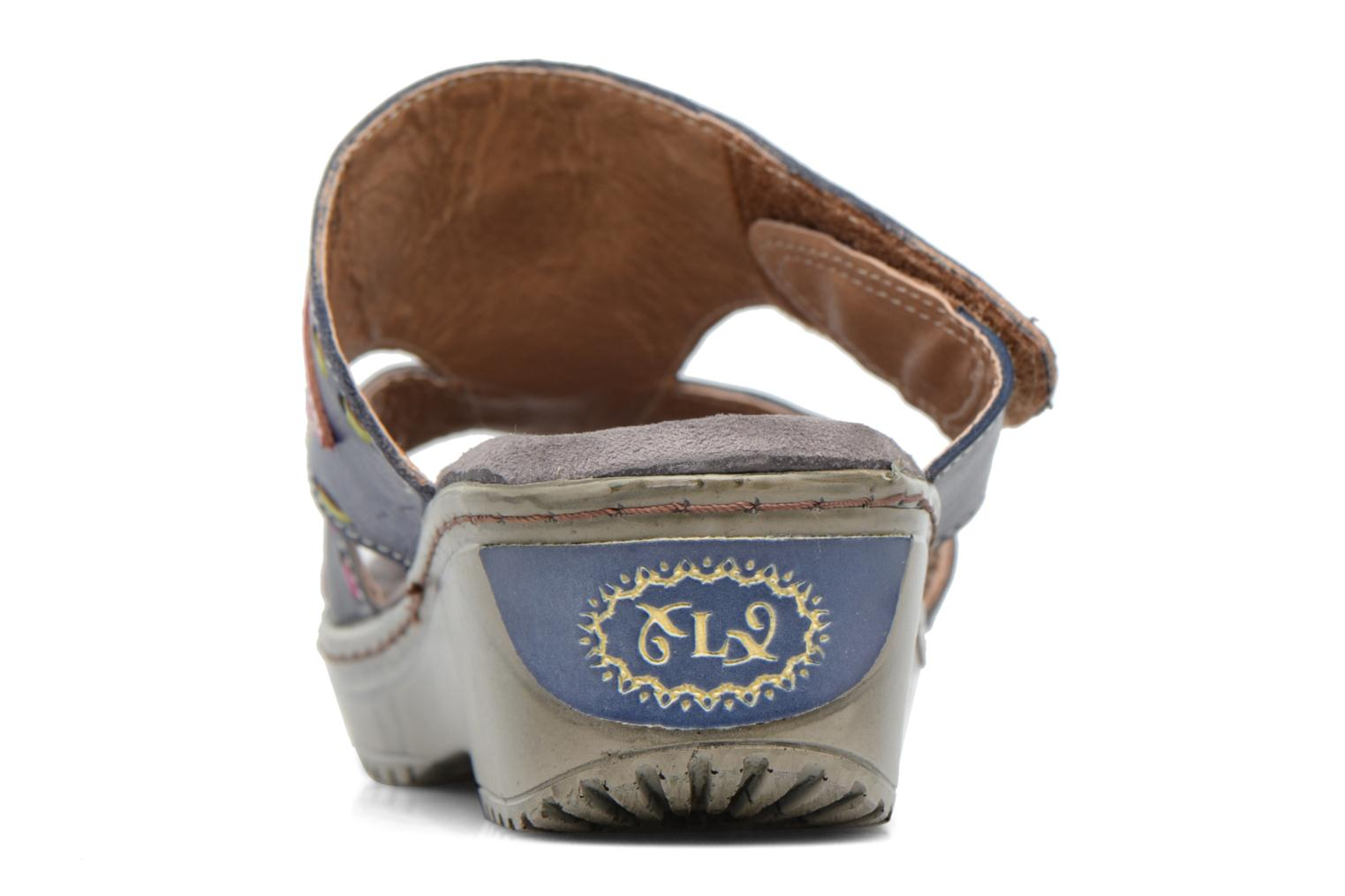 Mules & clogs Laura Vita Vagon Blue view from the right