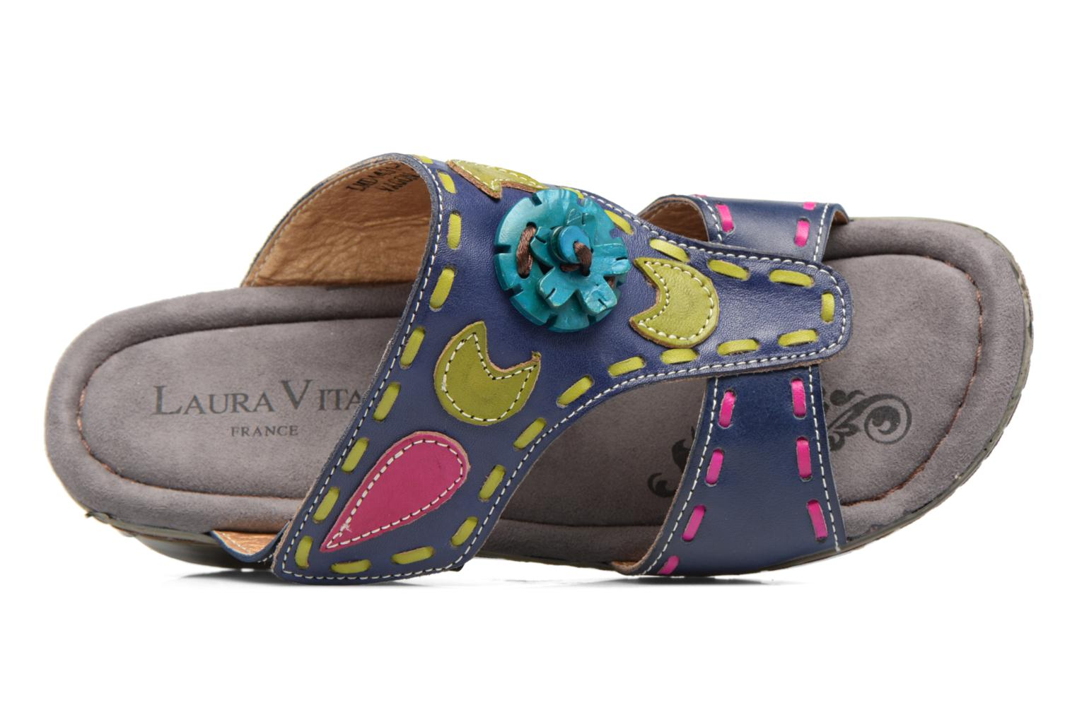 Mules & clogs Laura Vita Vagon Blue view from the left