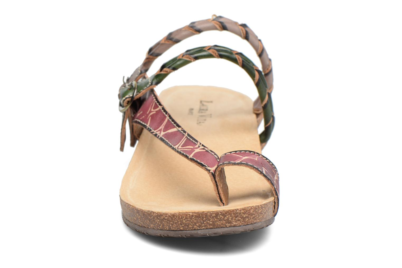 Sandales et nu-pieds Laura Vita Valde Multicolore vue portées chaussures
