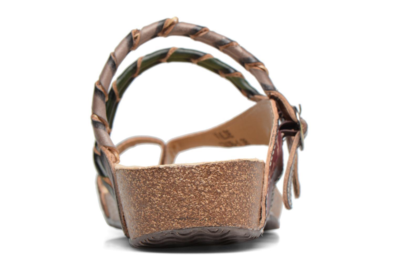 Sandales et nu-pieds Laura Vita Valde Multicolore vue droite