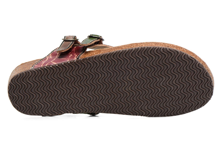 Sandales et nu-pieds Laura Vita Valde Multicolore vue haut