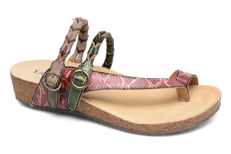 Sandales et nu-pieds Laura Vita Valde Multicolore vue détail/paire