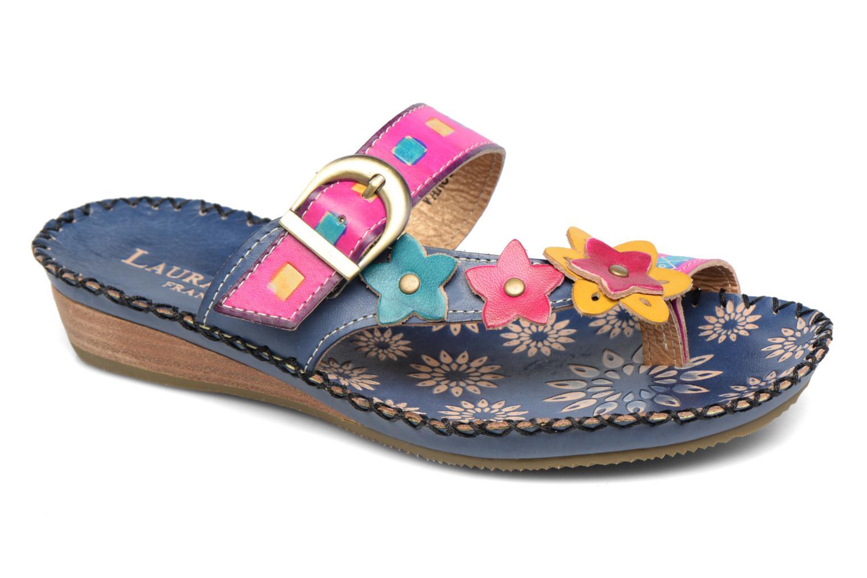 Sandales et nu-pieds Laura Vita Varois Bleu vue détail/paire