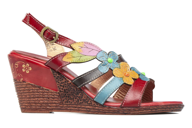 Sandales et nu-pieds Laura Vita Velte Rouge vue derrière