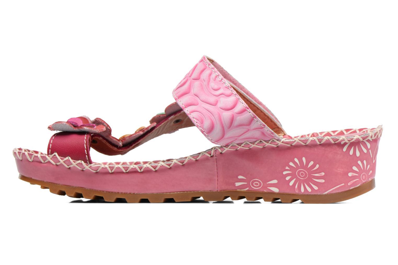 Sandales et nu-pieds Laura Vita Valeur Rose vue face
