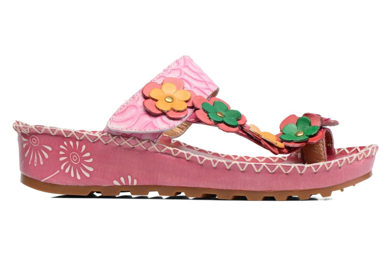 Sandales et nu-pieds Laura Vita Valeur Rose vue derrière