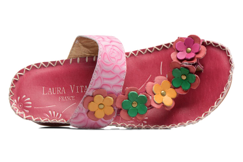 Sandales et nu-pieds Laura Vita Valeur Rose vue gauche