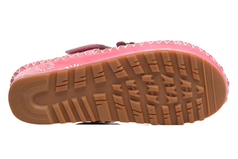 Sandales et nu-pieds Laura Vita Valeur Rose vue haut