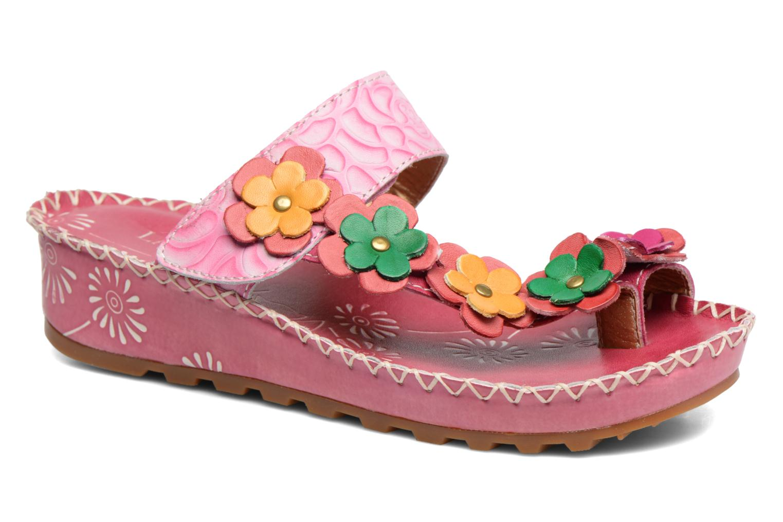 Sandales et nu-pieds Laura Vita Valeur Rose vue détail/paire