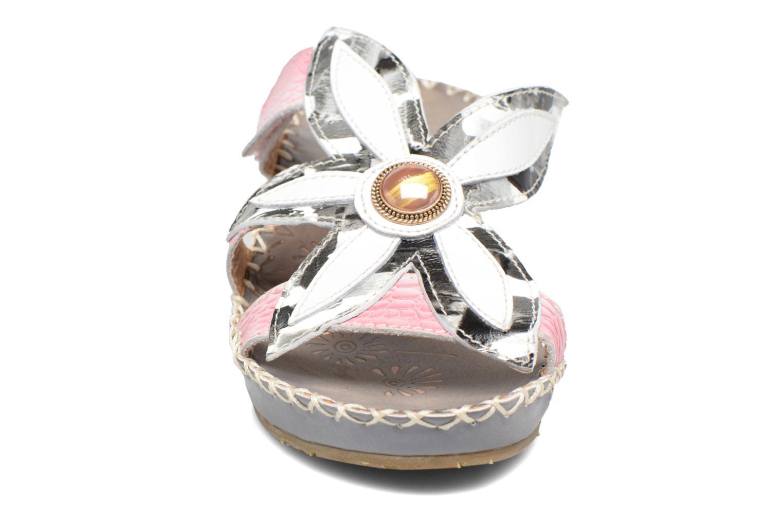 Sandales et nu-pieds Laura Vita Valo Gris vue portées chaussures