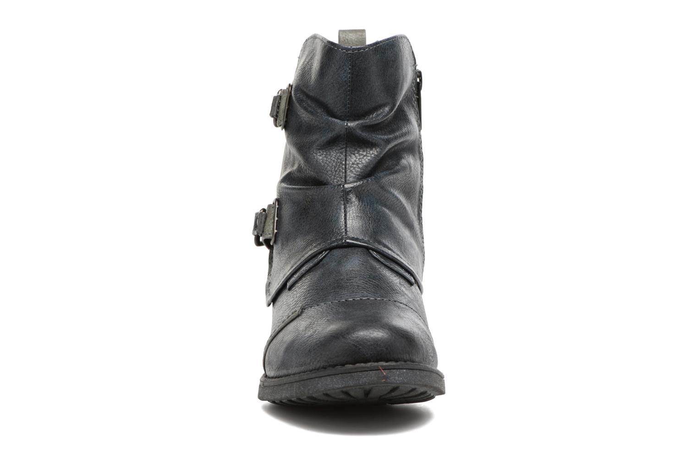 Bottines et boots Mustang shoes Eclewi Bleu vue portées chaussures
