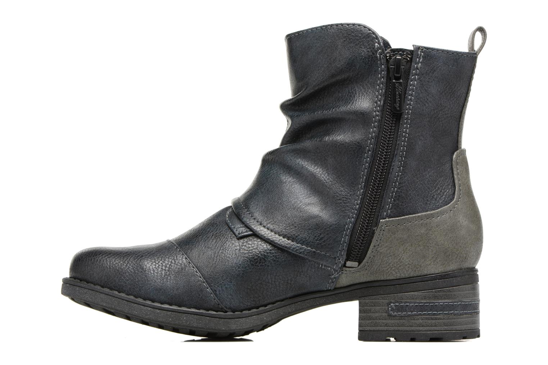 Bottines et boots Mustang shoes Eclewi Bleu vue face