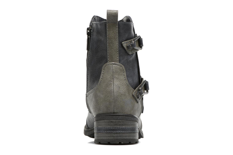 Bottines et boots Mustang shoes Eclewi Bleu vue droite