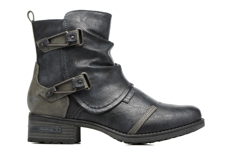 Bottines et boots Mustang shoes Eclewi Bleu vue derrière