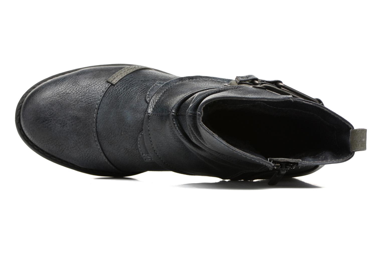 Bottines et boots Mustang shoes Eclewi Bleu vue gauche