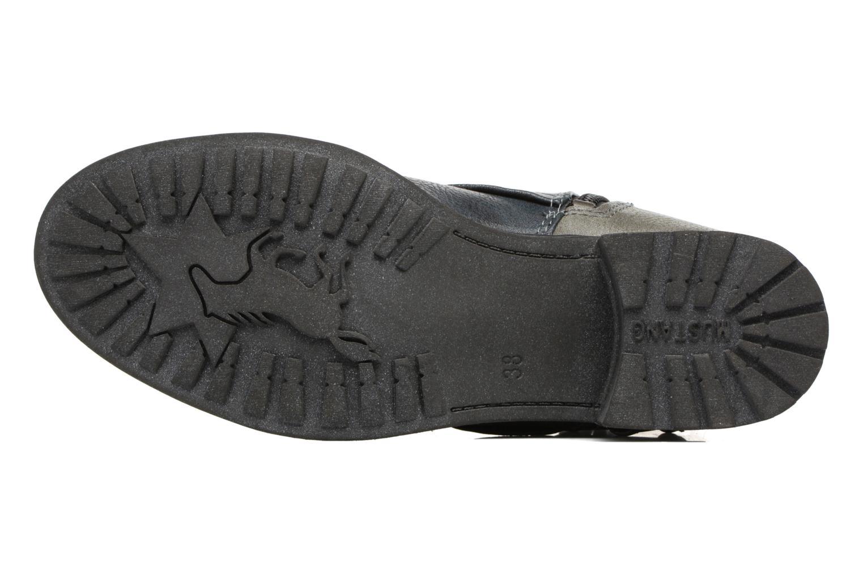 Bottines et boots Mustang shoes Eclewi Bleu vue haut
