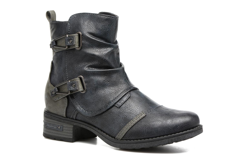 Bottines et boots Mustang shoes Eclewi Bleu vue détail/paire