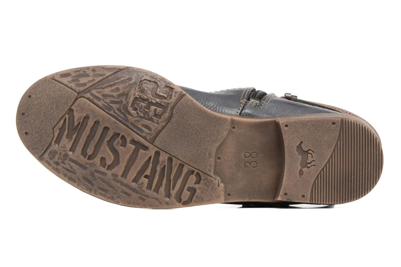 Bottines et boots Mustang shoes Himdele Bleu vue haut