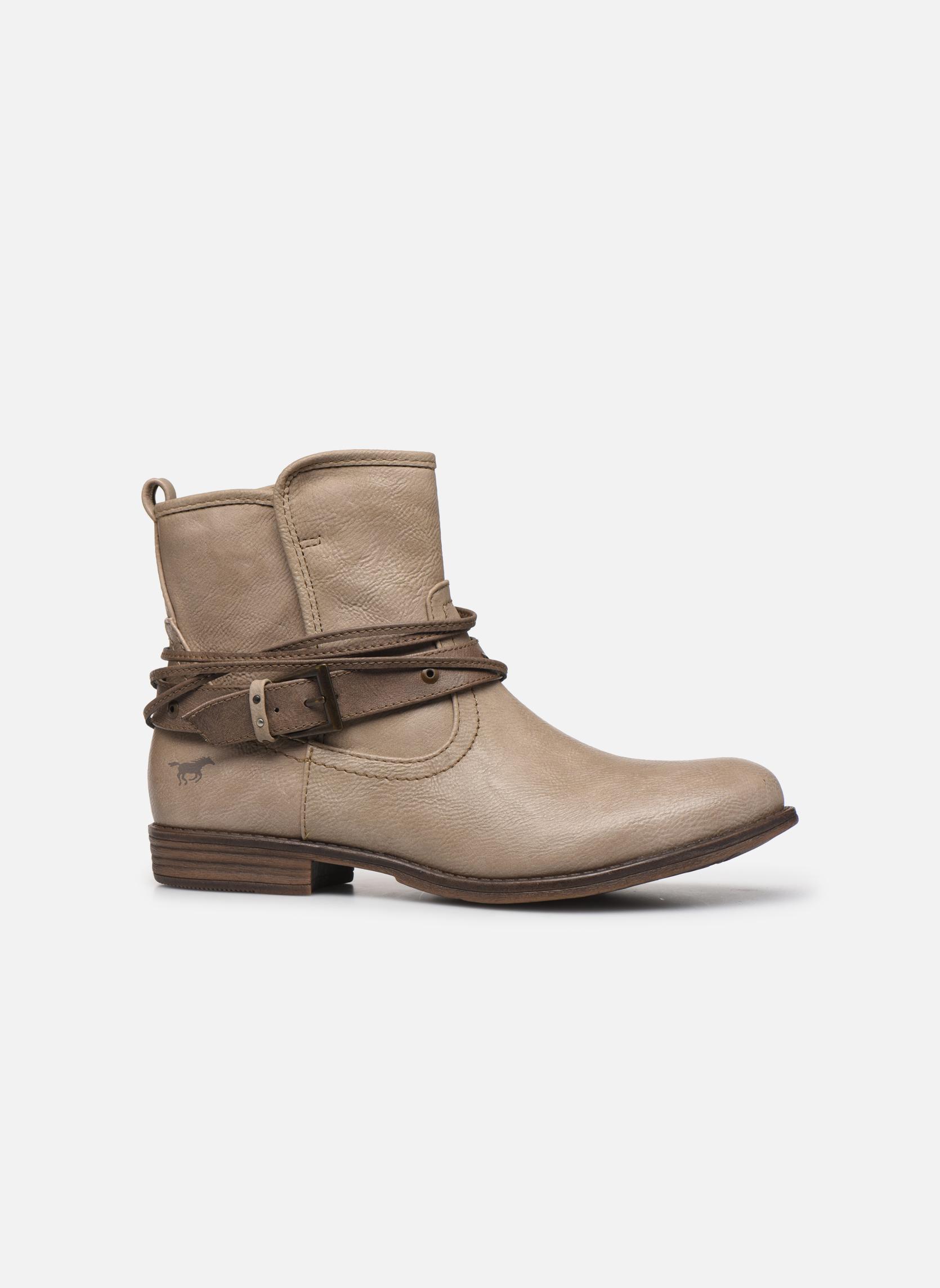 Bottines et boots Mustang shoes Himdele Beige vue derrière