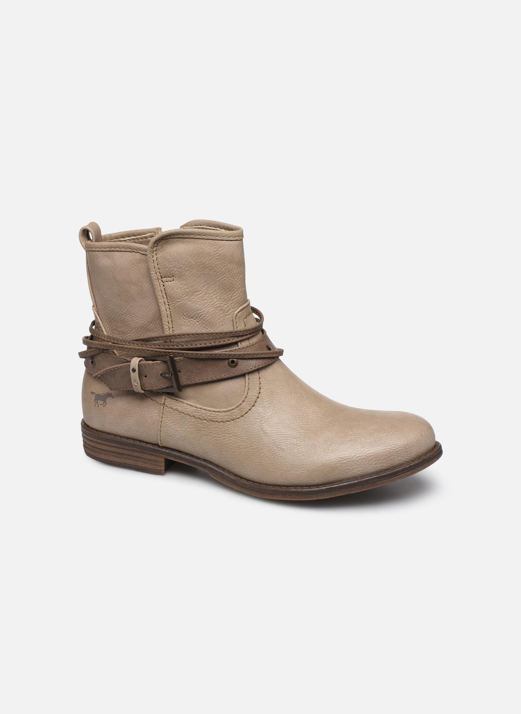 Bottines et boots Mustang shoes Himdele Beige vue détail/paire