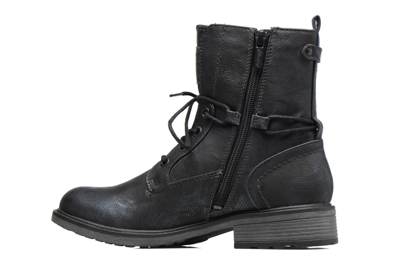 Bottines et boots Mustang shoes Sarliath Bleu vue face