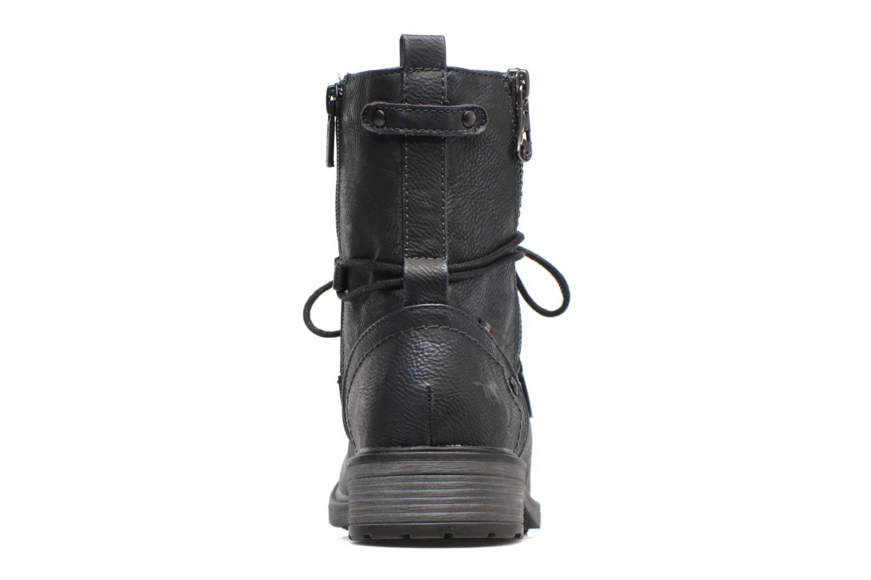 Bottines et boots Mustang shoes Sarliath Bleu vue droite