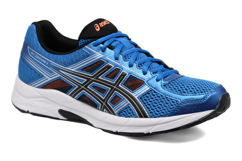 Chaussures de sport Asics Gel-Contend 4 Bleu vue détail/paire
