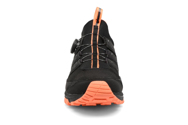 Chaussures de sport Asics Gel-Fujirado Noir vue portées chaussures