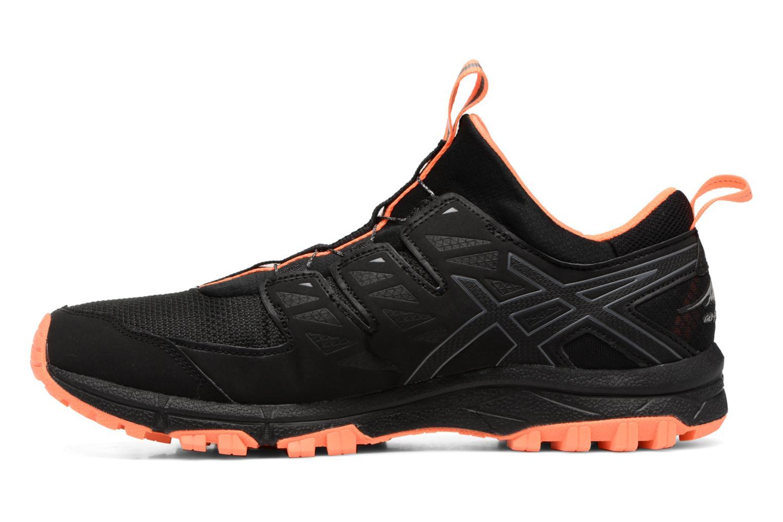Chaussures de sport Asics Gel-Fujirado Noir vue face