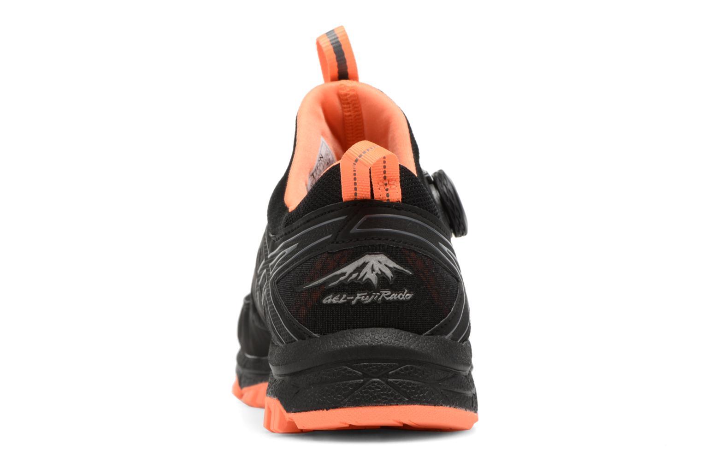 Chaussures de sport Asics Gel-Fujirado Noir vue droite