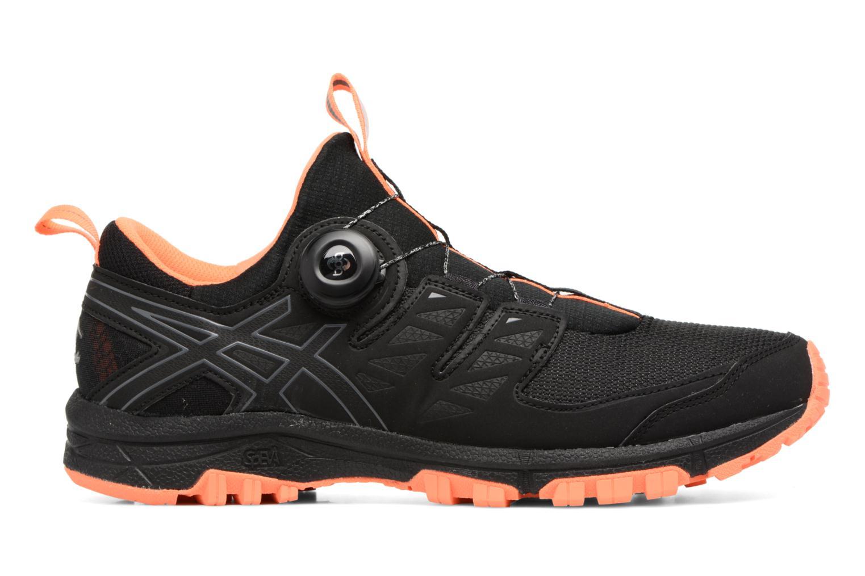Chaussures de sport Asics Gel-Fujirado Noir vue derrière