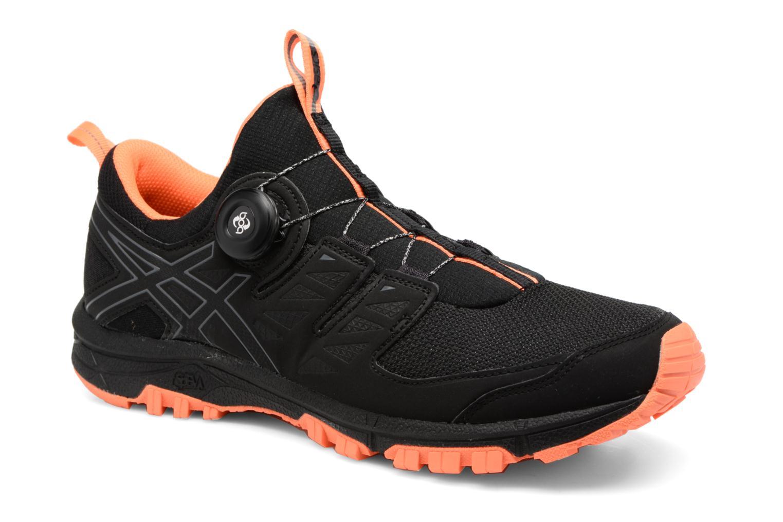 Chaussures de sport Asics Gel-Fujirado Noir vue détail/paire