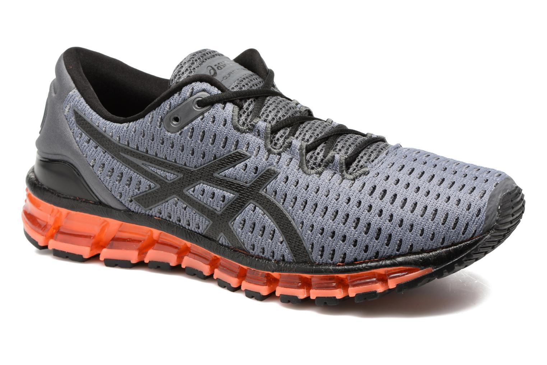 Chaussures de sport Asics Gel-Quantum 360 Shift Gris vue détail/paire