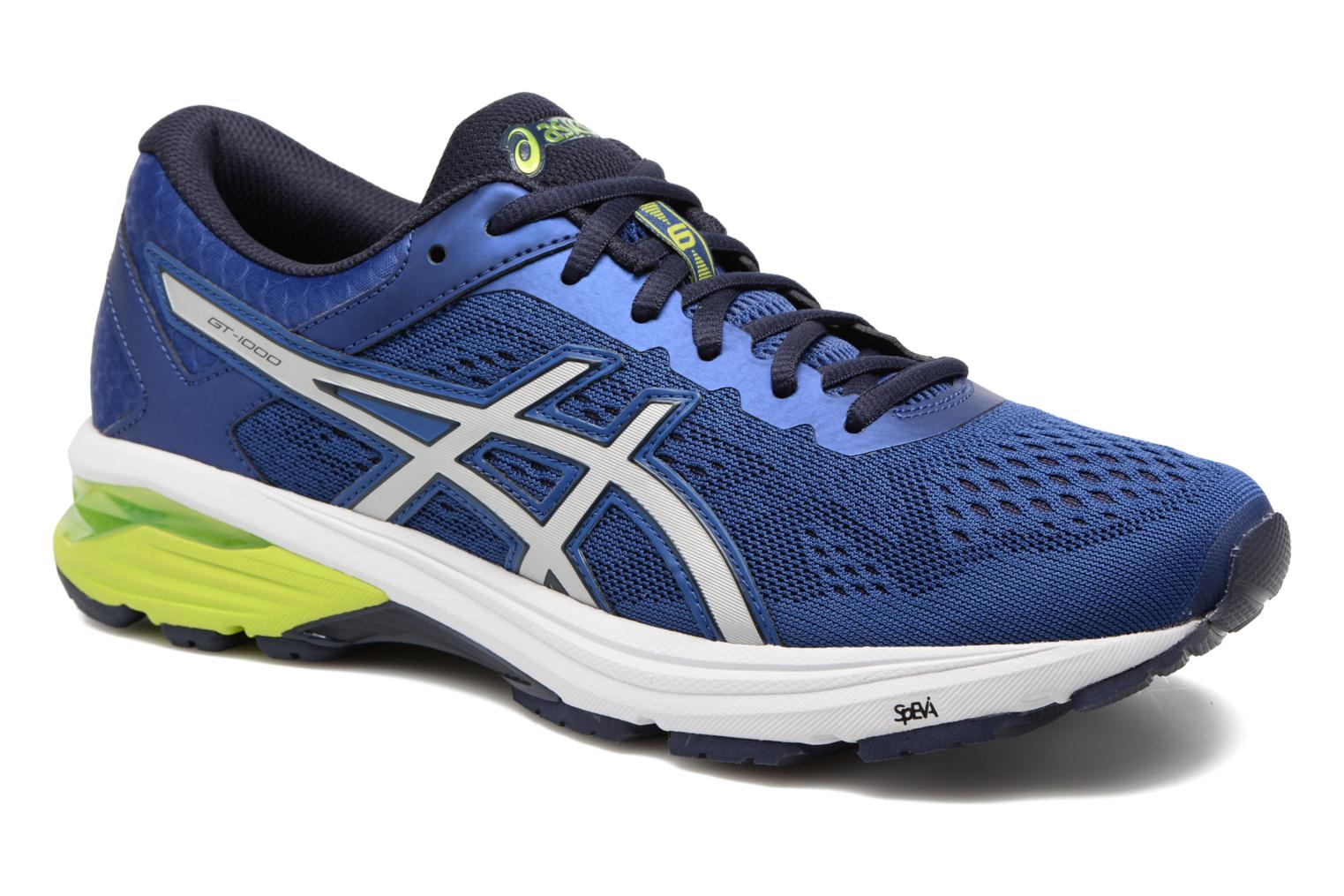 Sport shoes Asics GT 1000 6 Blue detailed view/ Pair view
