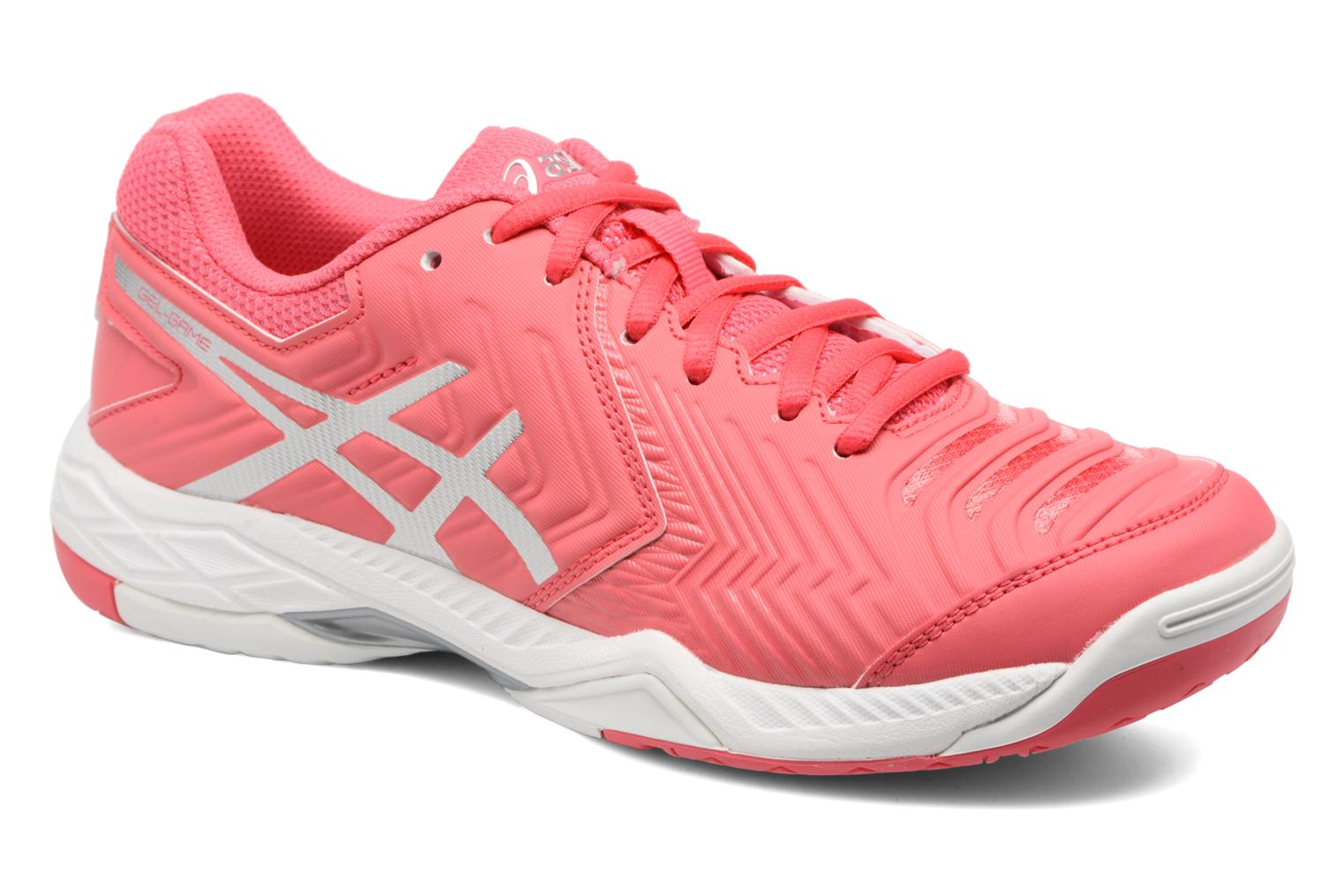 Gel Silver 6 White Red Rouge Game Asics 1dwqSPw
