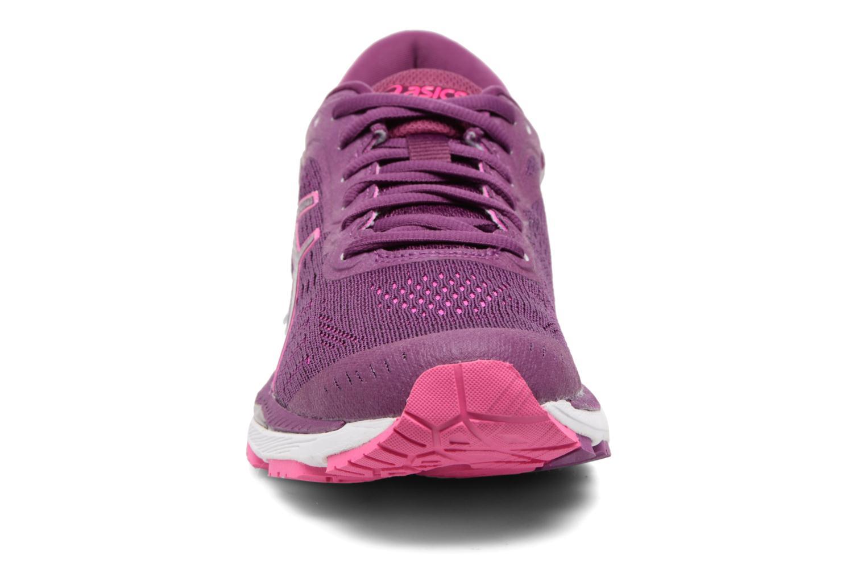 Chaussures de sport Asics Gel-Kayano 24 Violet vue portées chaussures