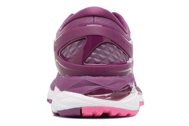 Chaussures de sport Asics Gel-Kayano 24 Violet vue droite