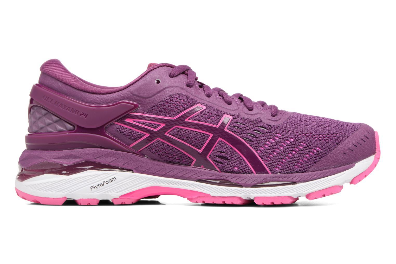 Chaussures de sport Asics Gel-Kayano 24 Violet vue derrière