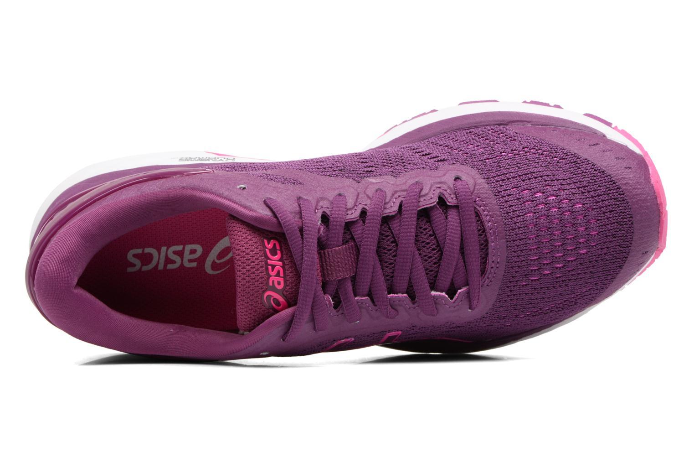 Chaussures de sport Asics Gel-Kayano 24 Violet vue gauche