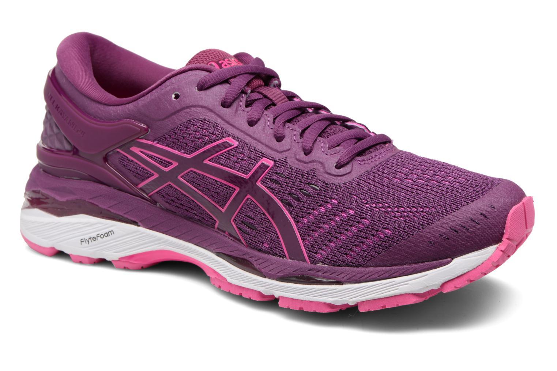 Chaussures de sport Asics Gel-Kayano 24 Violet vue détail/paire