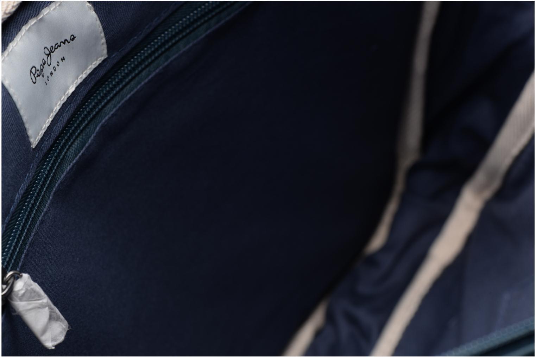Sacs homme Pepe jeans IVY Bag Bleu vue derrière