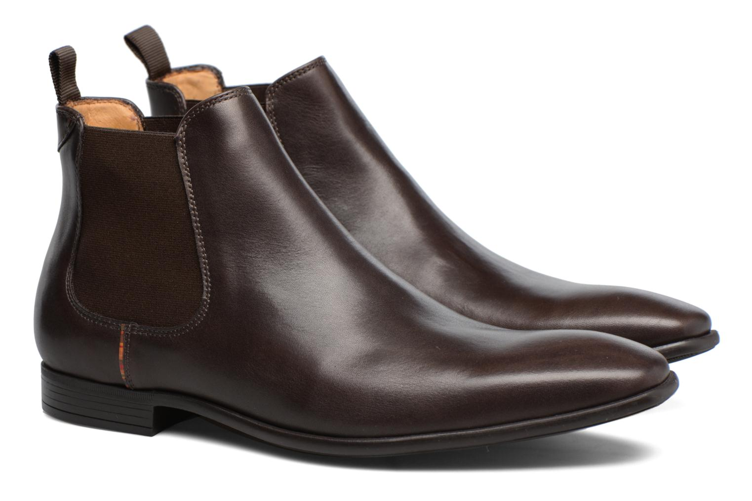 Bottines et boots Paul Smith Falconer Marron vue 3/4