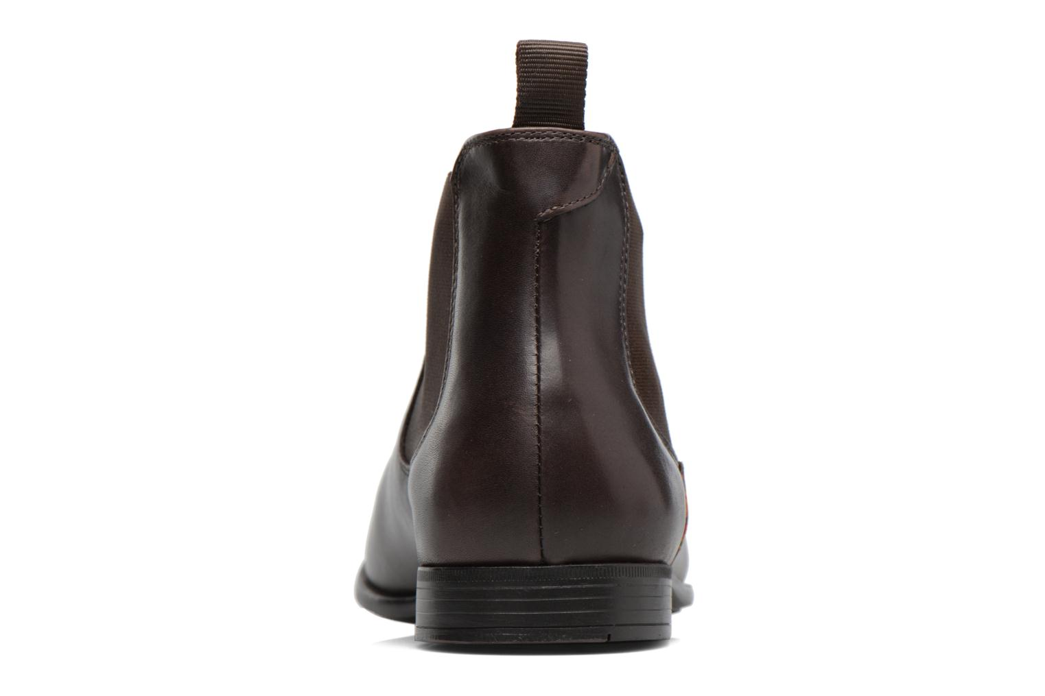 Bottines et boots Paul Smith Falconer Marron vue droite