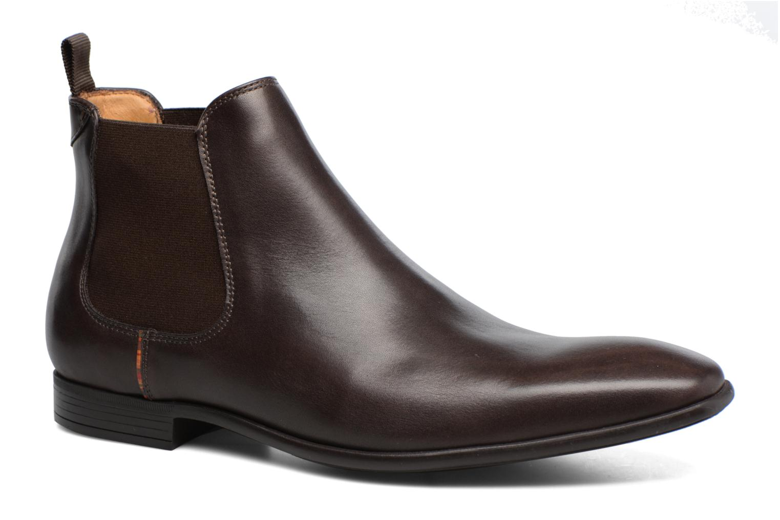 Bottines et boots Paul Smith Falconer Marron vue détail/paire