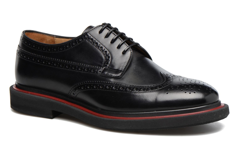 Chaussures à lacets Paul Smith Junior Noir vue détail/paire