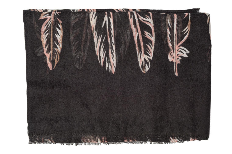 Divers Pieces ROSABELLA Long scarf 100x190 Noir vue portées chaussures