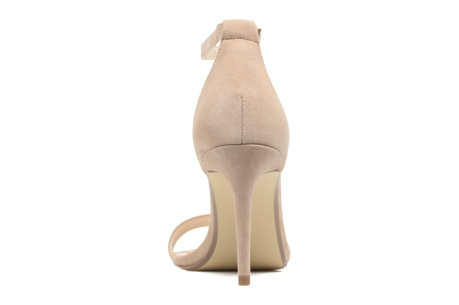 High heels Steve Madden Adelle1 Beige view from the right