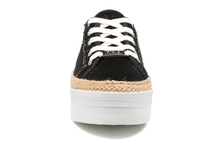 Baskets Steve Madden Sammer Noir vue portées chaussures